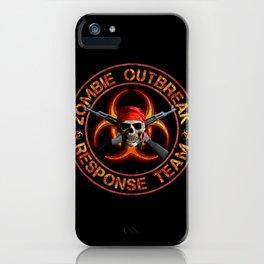 Zombie Response Team iPhone Case