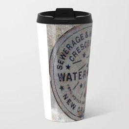 Street Water Meter - New Orleans LA Travel Mug