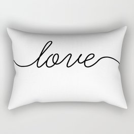 Peace love joy (2 of 3) Rectangular Pillow