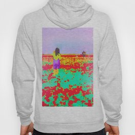 ..Tell Me A Story With Flowers.. Hoody