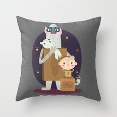 Boxtrolls Throw Pillow