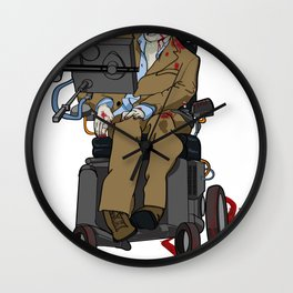 The Hawking Dead Wall Clock
