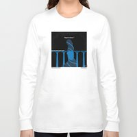 skyfall Long Sleeve T-shirts featuring No277-007-2 My Skyfall minimal movie poster by Chungkong