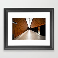 Subway Framed Art Print