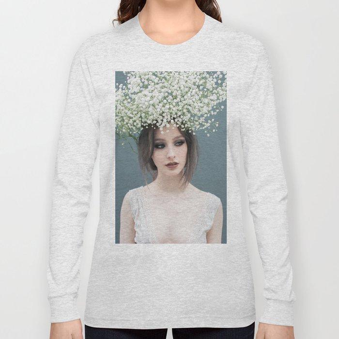 Floral portrait Long Sleeve T-shirt