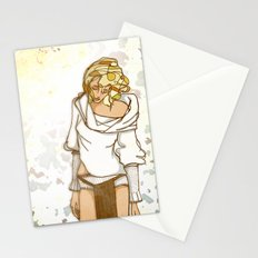 I miss the sun Stationery Cards