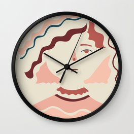 Hello Sophia Wall Clock