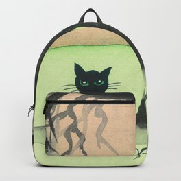 Vermont Whimsical Cats and Tree Backpack