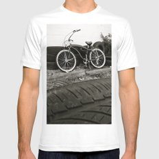 South Tacoma cruiser MEDIUM White Mens Fitted Tee