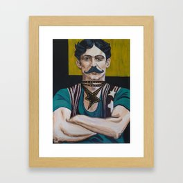 The Strong Man Framed Art Print