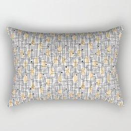 City with lights Rectangular Pillow