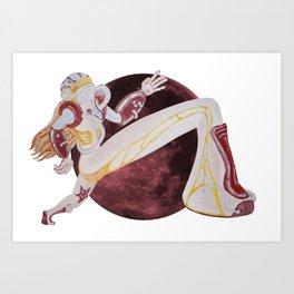 The Acid Lover Art Print