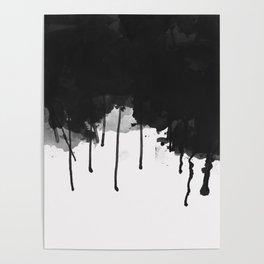 Spilled Ink Poster