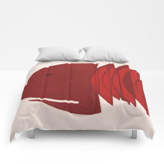 Red Fish Comforters