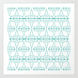 Norse Textle Art Print