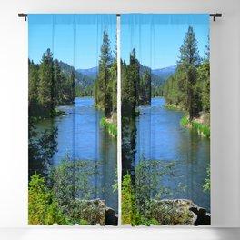 Payette River Scene ~ II Blackout Curtain