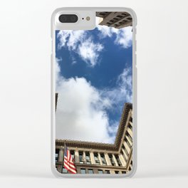 Downtown Los Angeles Clear iPhone Case