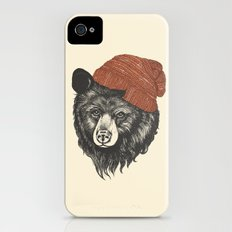 zissou the bear iPhone (4, 4s) Slim Case