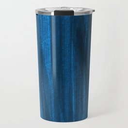 Dark Blue Falling Travel Mug