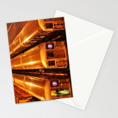 New York Queens Subway 7 Train Yard Stationery Cards