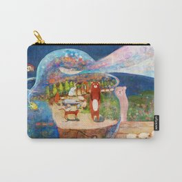 Escape at night from a fish bowl Carry-All Pouch