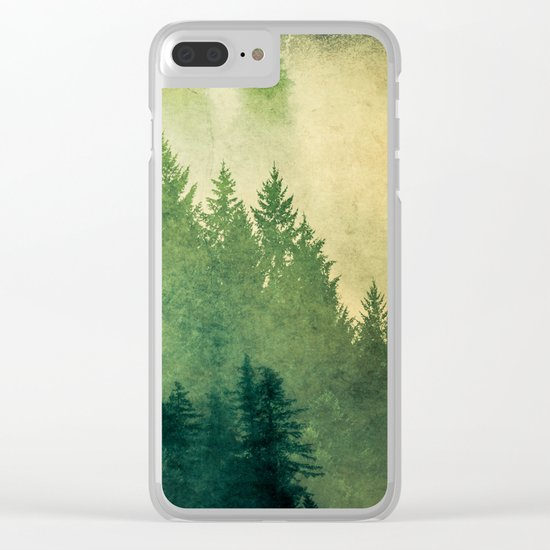 Nature Hike Clear iPhone Case