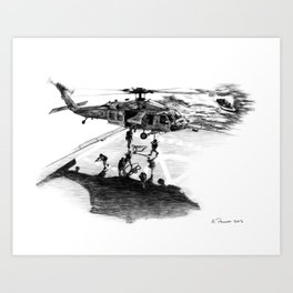 Force Recon Art Print