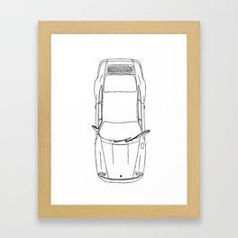 German Air Cooled Car Framed Art Print
