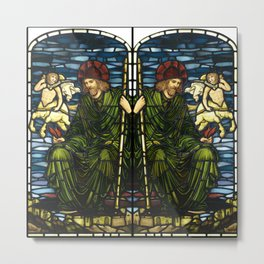 "Edward Burne-Jones ""Jupiter"" Metal Print"