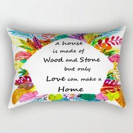 Love Our Home Rectangular Pillow