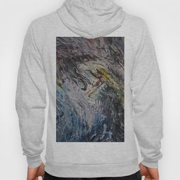 albatros acrylic on canvas Hoody