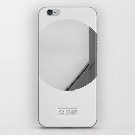 RUSTICATION iPhone Skin