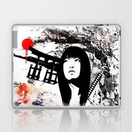 Japanese Geisha Warrior Laptop & iPad Skin
