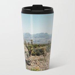 Nevada Desert Scene Travel Mug