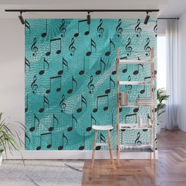 Music notes Wall Mural