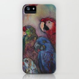 Well Hello Polly iPhone Case