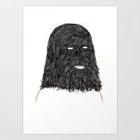 tim shumate Art Prints featuring Tim by David Penela