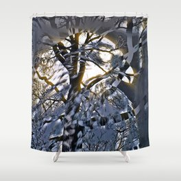 Intruder Incognito - Hawk, v4 Shower Curtain