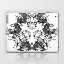 Mitosis (No. 1)   Black & White Laptop & iPad Skin