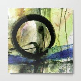 Enso Of Zen No. 4A by Kathy Morton Stanion Metal Print