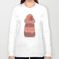 guinea pig Long Sleeve T-shirts featuring Guinea Pig by L9huis