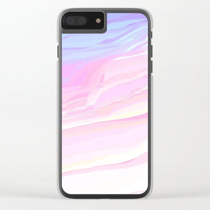 Summer seaside beach Clear iPhone Case