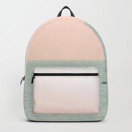 Sky Blush x Ocean Art Backpack