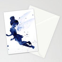 Tinker, navy blue Stationery Cards