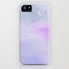 Soft Watercolours - Lavendar iPhone Case