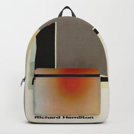 Richard Hamilton Exhibition poster 1970 Backpack