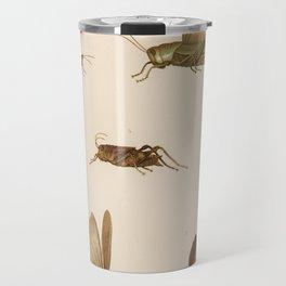 Vintage Grasshopper Diagram (1875) Travel Mug