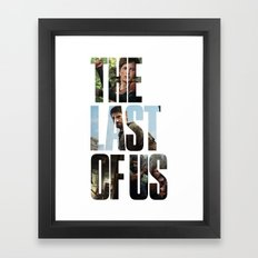 The Last of Us (Tlou Collage) Framed Art Print
