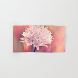Chive blossom Hand & Bath Towel