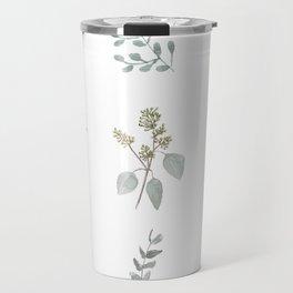 Botanical elements Travel Mug